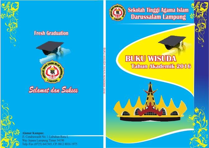 Cover Buku Wisuda Koleksi Desain 28 Gambar